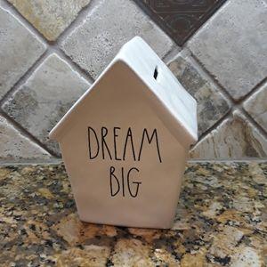 New Rae Dunn DREAM BIG Bank
